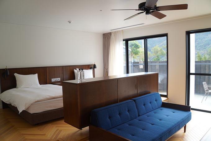 シンプルに泊まりたいならテラスつきのお部屋がおすすめ
