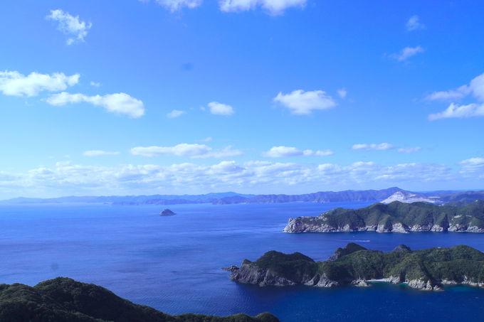 360度の絶景ビューが見渡せる「米山展望台」