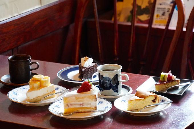 本格的なケーキが食べれるレトロな喫茶店「こふひいや」