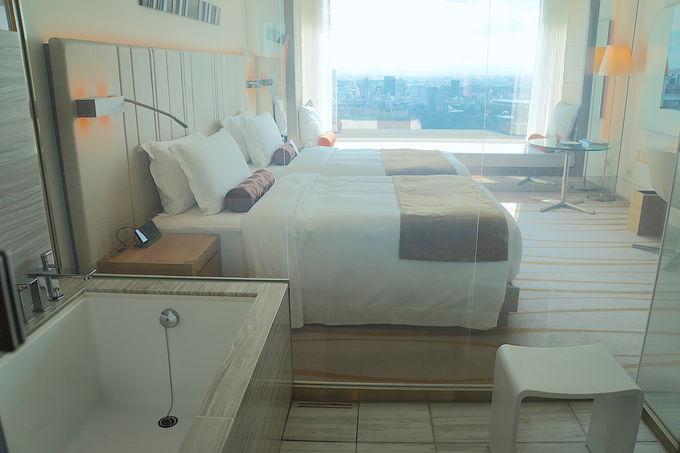 豪華なアメニティやデジタルツールで全てこなせる快適なお部屋