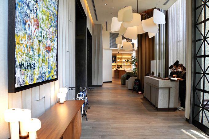 オシャレで居心地がいいラグジュアリーライフスタイルホテル