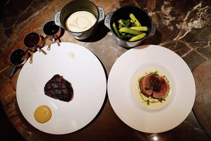 有名ホテルの経験を持つ料理長が作り出す美味しいディナー