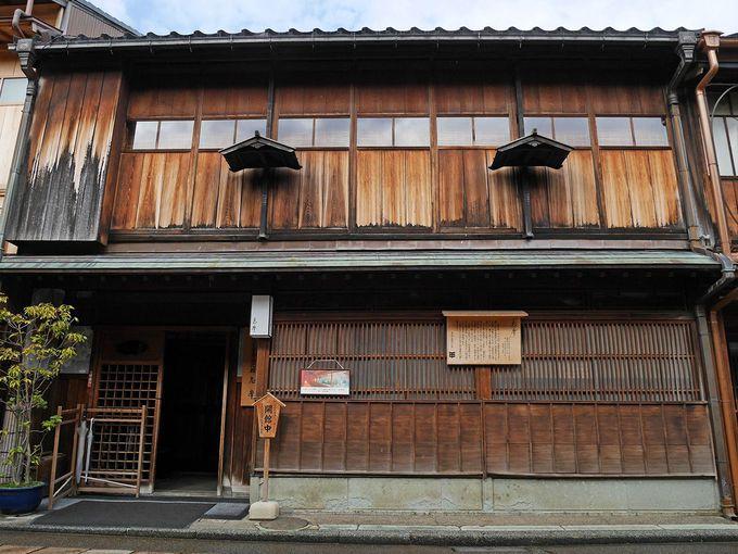 江戸時代に建てられた「志摩」に見る、花街の小粋なサイン