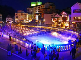 幻想のライトアップ「草津温泉」お得で楽しい夜景散策
