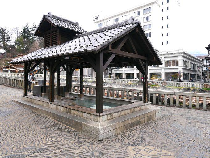 草津の歴史やアート、足湯を楽しみ、湯畑を再発見