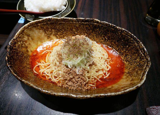 広島汁なし担担麺の人気店「くにまつ」
