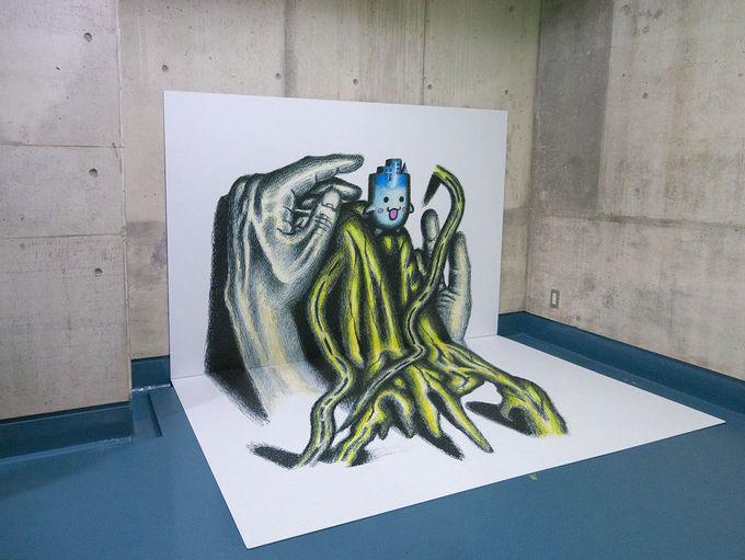 子連れで楽しむ3Dアートと木っずルーム