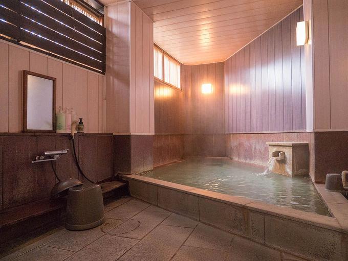 泉質がいい小ぶりの浴場