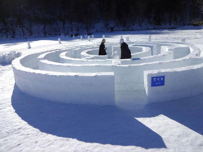 アクティビティと氷のアート