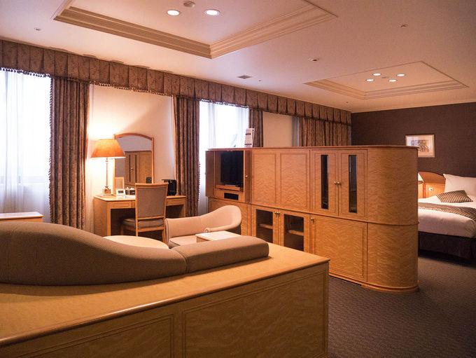レディースルームなど多彩な客室