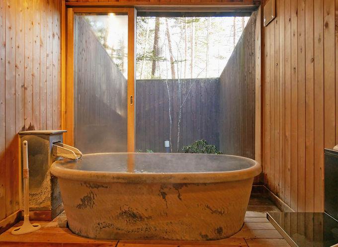 草津の名湯はバリアフリー対応で