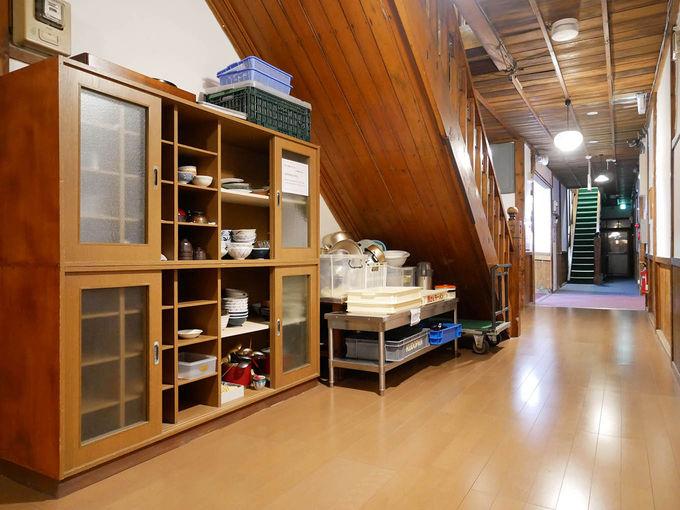 炊事場や自炊道具、食器も無料