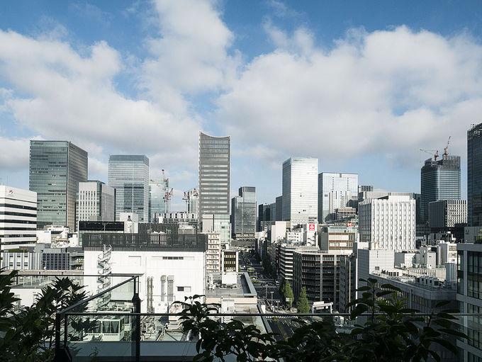 最上階ロビーから見る東京の絶景