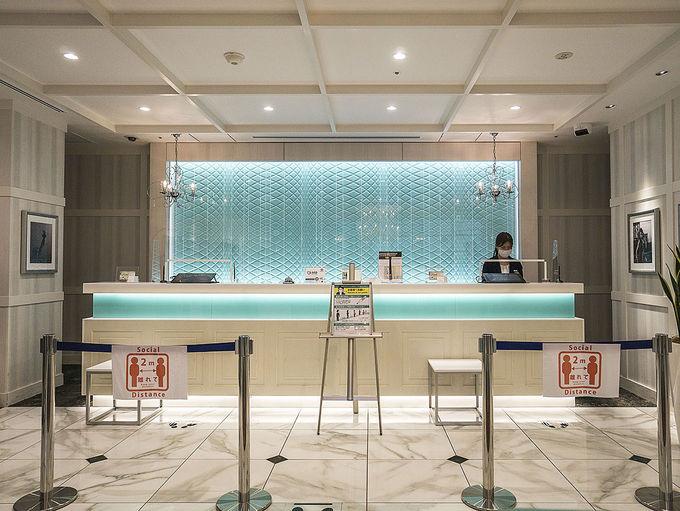 オシャレで便利なモダンホテル