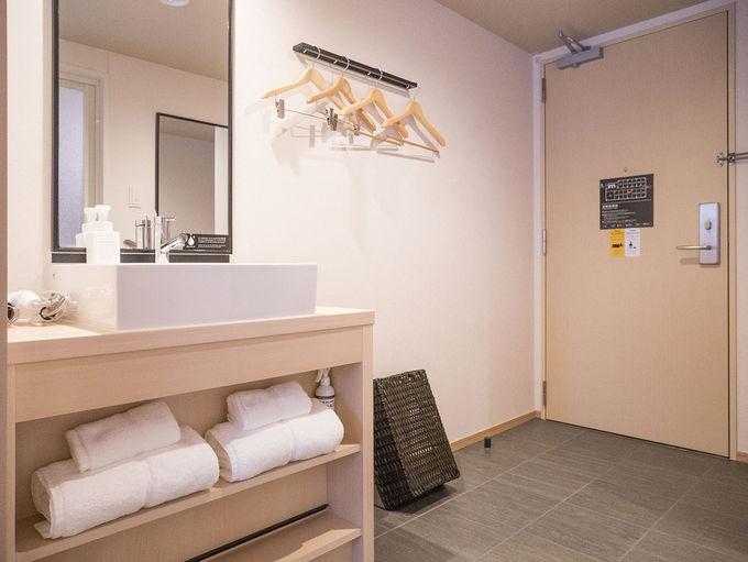 旅の疲れを癒すための客室