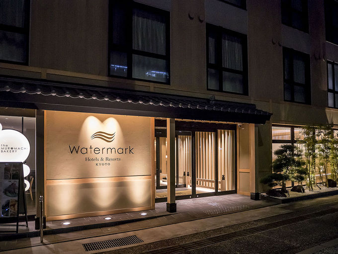 京都らしい和モダンのホテル