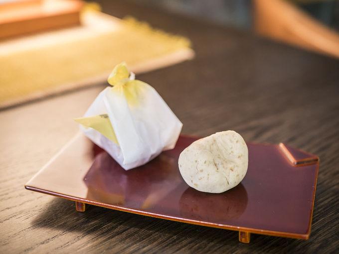 秋は高山銘菓「栗よせ」が人気