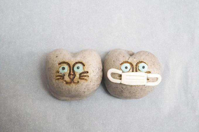 アマビエさまとマスク猫子