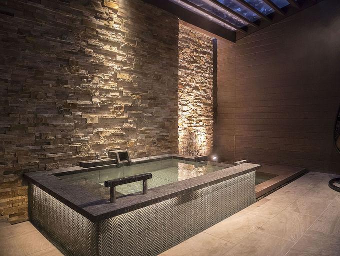 プレミアム感満点の客室露天風呂