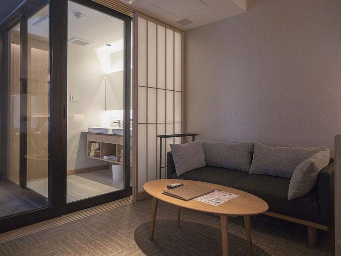 2部屋限定の温泉付き客室