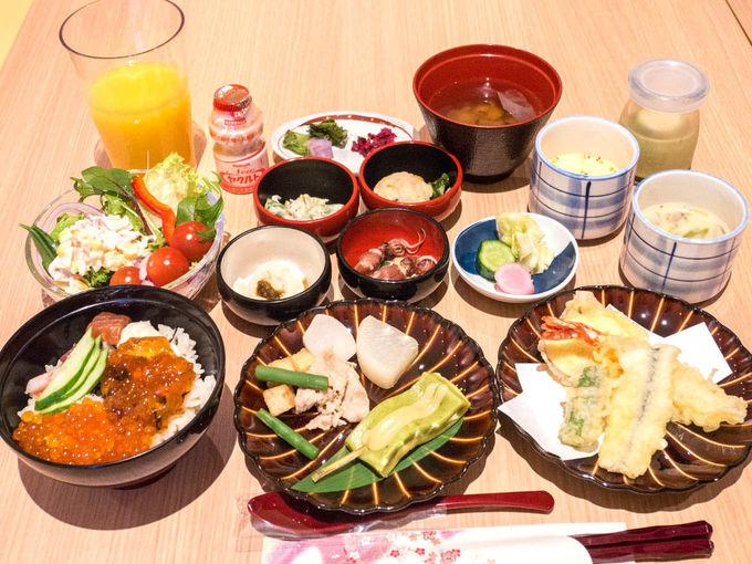 京都の味が楽しめる多彩な朝食
