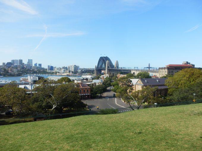 シドニー天文台のある「オブザーバトリー・ヒル・パーク」からスタート