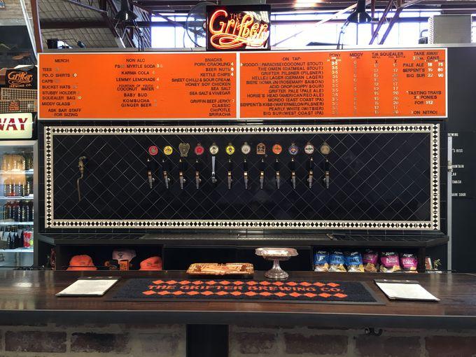 種類は沢山、個性豊かなビールが揃う。