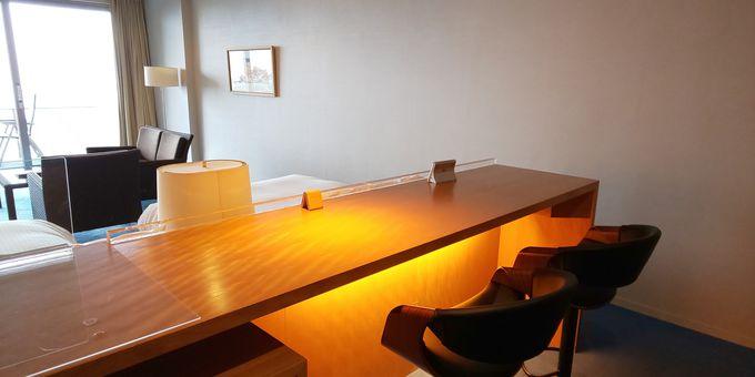 全室スイート仕様の優雅な客室