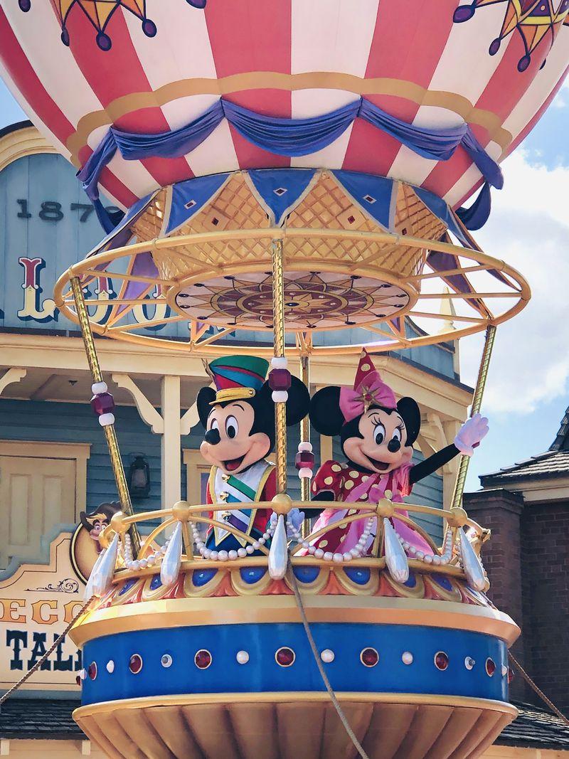 ディズニー フェスティバル オブ ファンタジー パレード