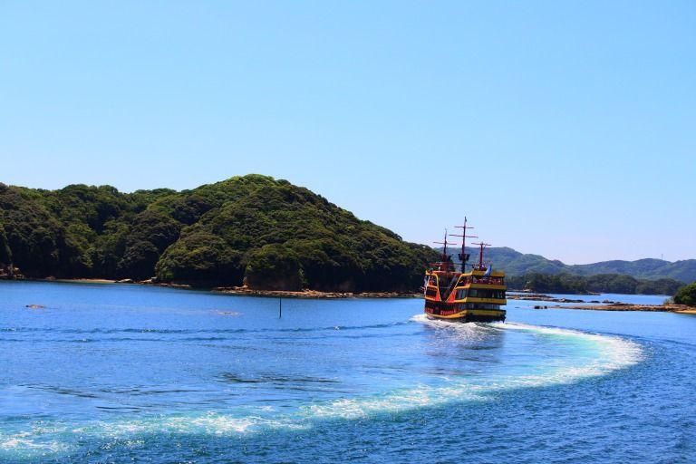九十九島を巡る遊覧船!