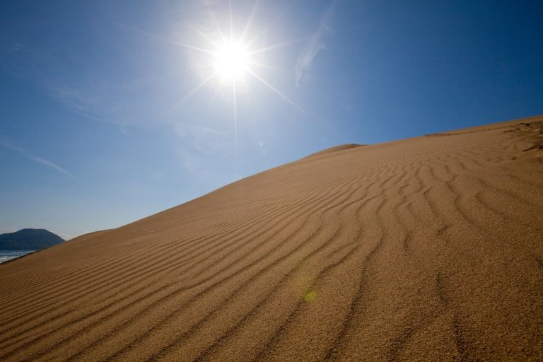 日本最大級の広さを誇る「鳥取砂丘」!