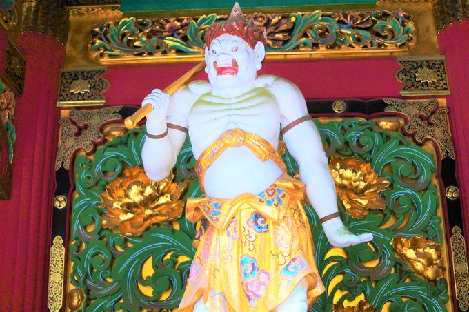 全国でも珍しい仏様「烏摩勤伽」