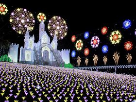 幻想的な世界が楽しめるクリスマスファンタジーinあしかがフラワーパーク