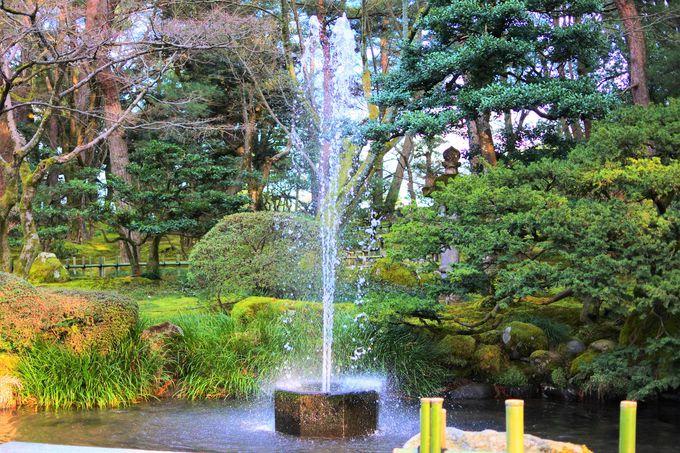 日本最古の噴水!