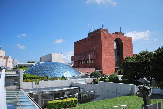 長崎原爆資料館がある「学びのゾーン」