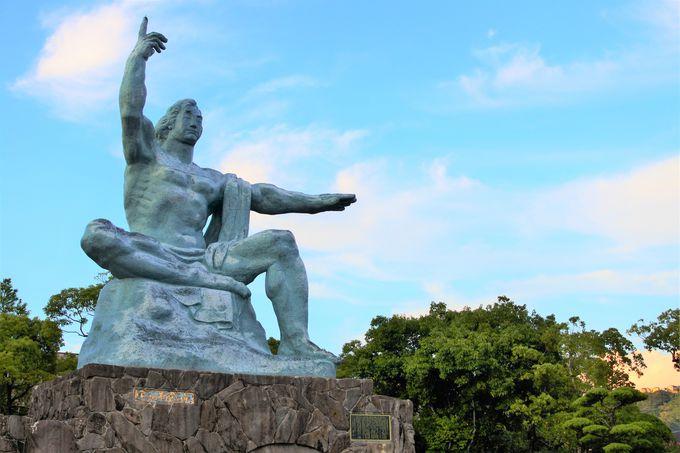 平和祈念式典が行われる「願いのゾーン」