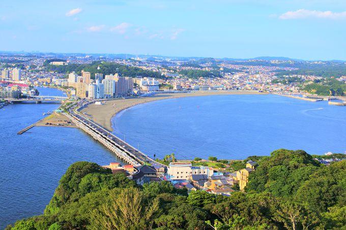 江の島シーキャンドルから藤沢市を一望!