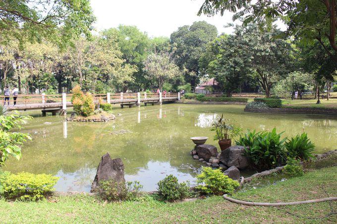 市民憩いの場所 フィリピンの英雄が眠る「リサール公園」