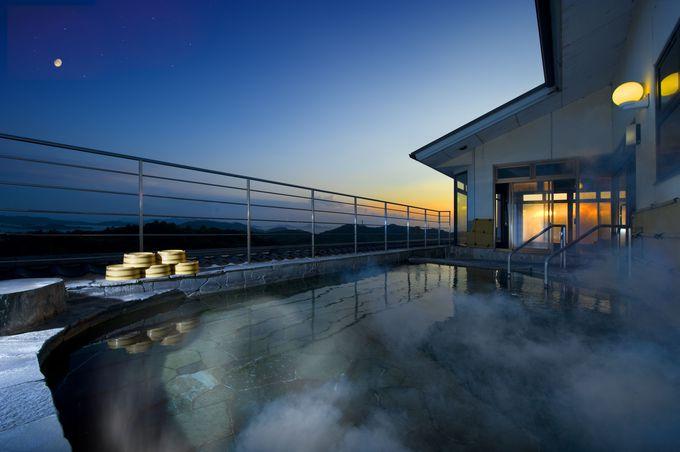 鷲羽山唯一の天然温泉とはちみつパール風呂