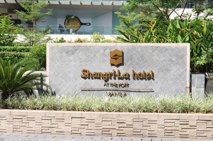 BGCのランドマーク「Shangri-La Hotel」
