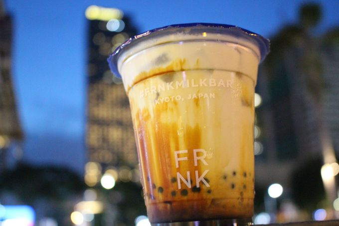 フィリピン生まれ!京都がコンセプトの「FRNK Milk Bar」