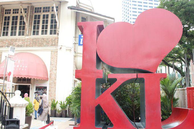 KL観光では外せない!「I LOVE KL」のモニュメント