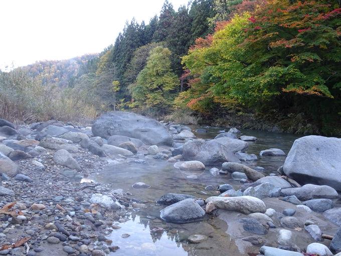 絶景のプライベート天然足湯