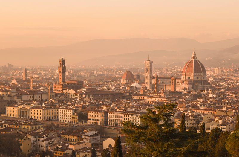 フィレンツェを代表する展望スポット!ミケランジェロ広場