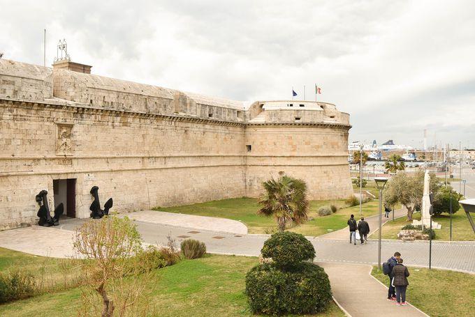 芸術家ミケランジェロが設計したお城