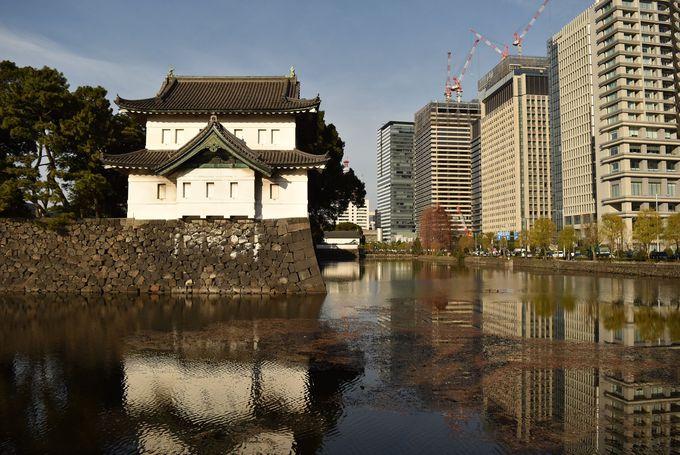 徳川家康が造り始めた江戸城