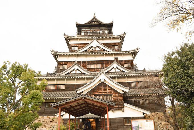 「三本の矢」の逸話で有名な毛利家ゆかりの広島城