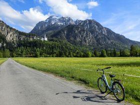 ノイシュバンシュタイン城まで自転車で20分!中世の町フュッセンへ