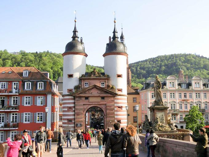 ハイデルベルクは「古城街道」屈指の名城