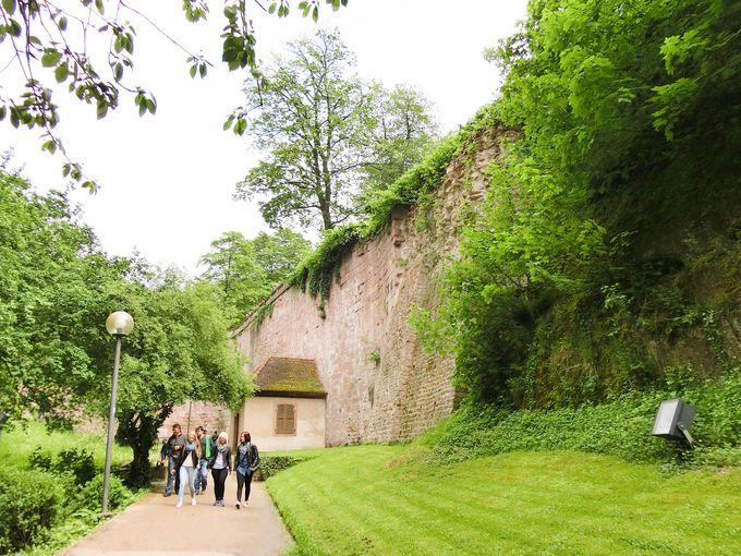 美しさと廃墟感が入り混じるハイデルベルク城